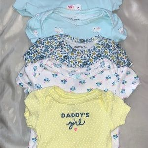 Carter's 5-pack bodysuits (newborn)